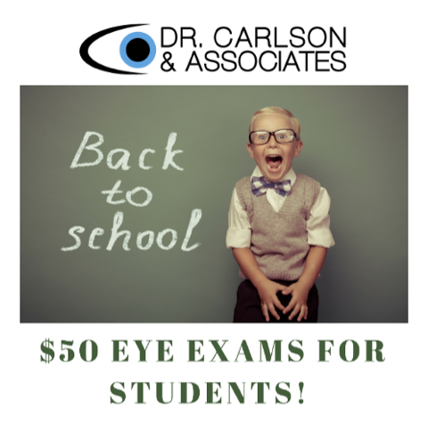 28e4c2e143 Are Eye Exams on Your Back 2 School List of Things to Do this Week